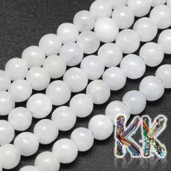 Přírodní modrý kalcit - ∅ 6 mm - kuličky