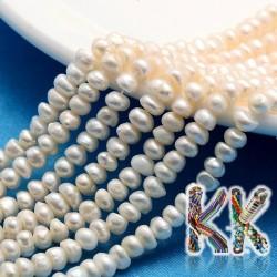 Přírodní perly - ∅ 4-5 mm - oválky