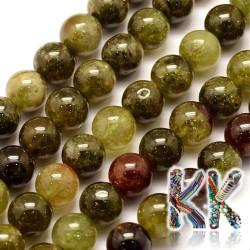 Přírodní zelený granát - ∅ 8 mm - kulička