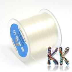 Polyesterové vlákno - čiré - ∅ 0,8 mm - návin 130 metrů