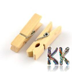 Dřevěný kolík - 72 x 10 x 13 mm