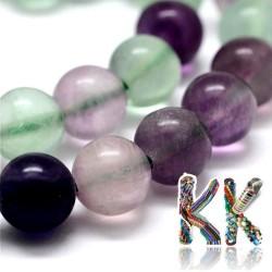 Přírodní fluorit - ∅ 10 mm - kulička