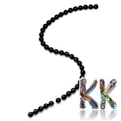 Přírodní obsidián - ∅ 10 mm - kulička - kvalita AA