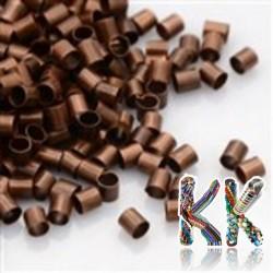 Železný zamačkávací rokajl - trubička - ∅ 2 x 2-3 mm - množství 1 g (cca 80 ks)