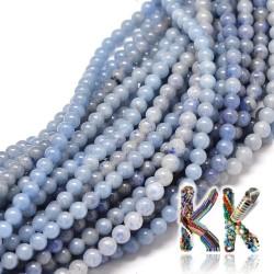 Přírodní modrý avanturín - ∅ 10 mm - kulička