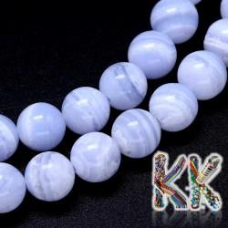 Přírodní chalcedon - ∅ 10 mm - kuličky - kvalita A