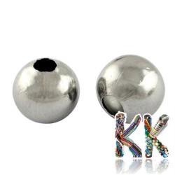 304 Nerezový oddělovací korálek - kulička - ∅ 4 mm