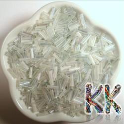Trubičky - průhledné duhové - 6 mm