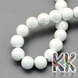 Porcelánové korálky - glazované - ∅ 8 mm - kuličky