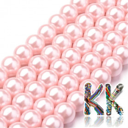 Voskované perly - ∅ 8 mm - kuličky