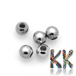 316 Nerezový oddělovací korálek - kulička - ∅ 3 mm