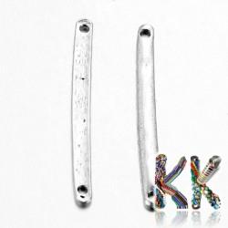 Mosazný mezičlánek - tyčka - 3 x 33 x 1 mm