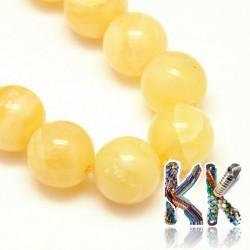 Přírodní oranžový kalcit - ∅ 10 mm - kuličky