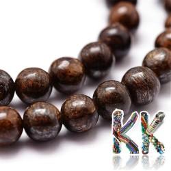 Přírodní bronzit - ∅ 8 mm - kulička