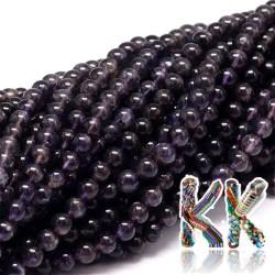 Přírodní iolit - ∅ 6 mm - kuličky