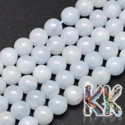 Přírodní modrý kalcit - ∅ 10 mm - kuličky