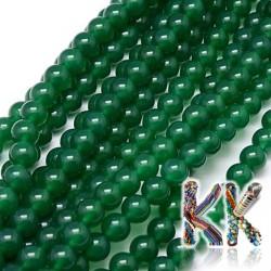 Přírodní zelený onyx - ∅ 8 mm - kulička - dobarvený