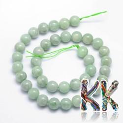 Přírodní jadeit - ∅ 10 mm - kulička