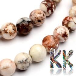 Přírodní magnezit - ∅ 6 mm - kuličky