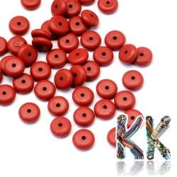 Rumělka - disk - ∅ 8 x 3 mm
