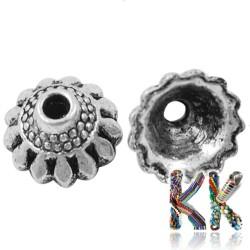 Kaplík z tibetského stříbra - čepička - ∅ 10 x 5,5 mm