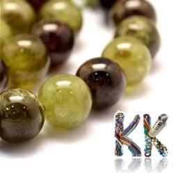 Přírodní zelený granát - ∅ 6 mm - kulička