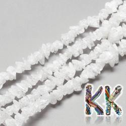 Přírodní praskaný křišťál zlomky - 6-15 x 4-8 x 2-7 mm - váha 5 g (cca 4 cm)