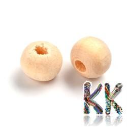 Dřevěný korálek - kulička - ∅ 6 mm