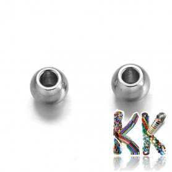 304 Nerezový oddělovací korálek - kulička - ∅ 3 mm