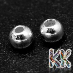 925 stříbro - oddělovací korálek - kulička - ∅ 3 mm