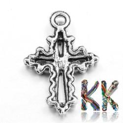 Přívěsek křížek - 20 x 14 x 2 mm