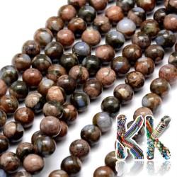 Přírodní zelený africký opál - ∅ 8 mm - kulička