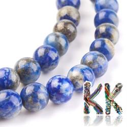 Přírodní lapis lazuli - ∅ 8 mm - kulička - kvalita AB
