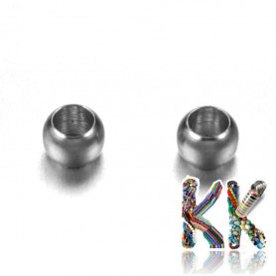 316 nerezový zamačkávací rokajl - ∅ 2 x 1,5 mm - množství 1 g (cca 70 ks)