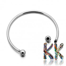 Náramkový kruh s kuličkou - ∅ 65 mm