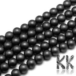 Zmatnělý syntetický nemag. hematit - ∅ 10 mm - kulička - kvalita AA