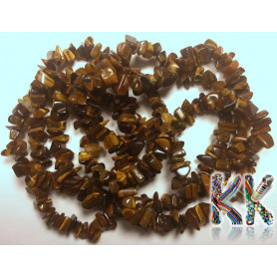 Přírodní tygří oko - zlomky - 5-8 mm - 5 g