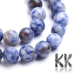 Přírodní modrý jaspis - ∅ 8 mm - kulička