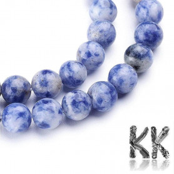 Přírodní modrý jaspis - ∅ 6 mm - kulička