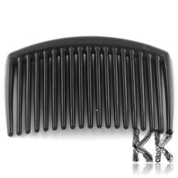 Plastový hřebínek do vlasů - 45-45 x 65-66 x 3-4 mm