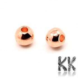 Mosazný oddělovací korálek - kulička - ∅ 3mm