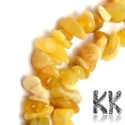 Přírodní žlutý opál - zlomky - 5-8 mm - váha 5 g (cca 6 cm)