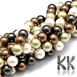 Lasturové perly - kuličky - ∅ 8 mm - kvalita A