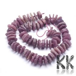 Přírodní rubín - ∅ 10-12 x 1,5-5 mm - nugetky