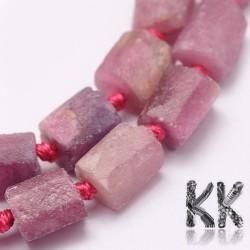 Přírodní rubín - ∅ 8~15 x 7~10 x 5~12 mm - nugetky
