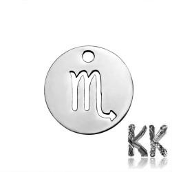 Přívěsek z 304 nerezové ocele - znamení zvěrokruhu - 12 x 1 mm