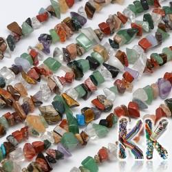 Směs zlomků minerálních kamenů - 4-10 x 4-6 x 2-4 mm - váha 5 g (cca 8,5 cm)