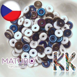MATUBO™ WHEEL - polopokovené - ∅ 6 mm (4 ks)