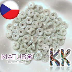 MATUBO™ WHEEL - neprůhledné lesklé - ∅ 6 mm (4 ks)