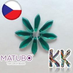 MATUBO™ JAZÝČKY - průhledné - 5 × 16 mm